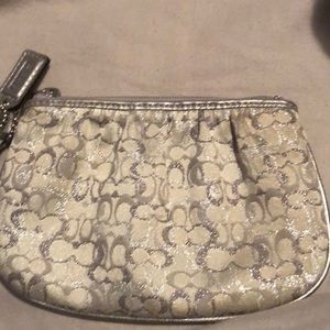 Coach small wristlet/ coin purse